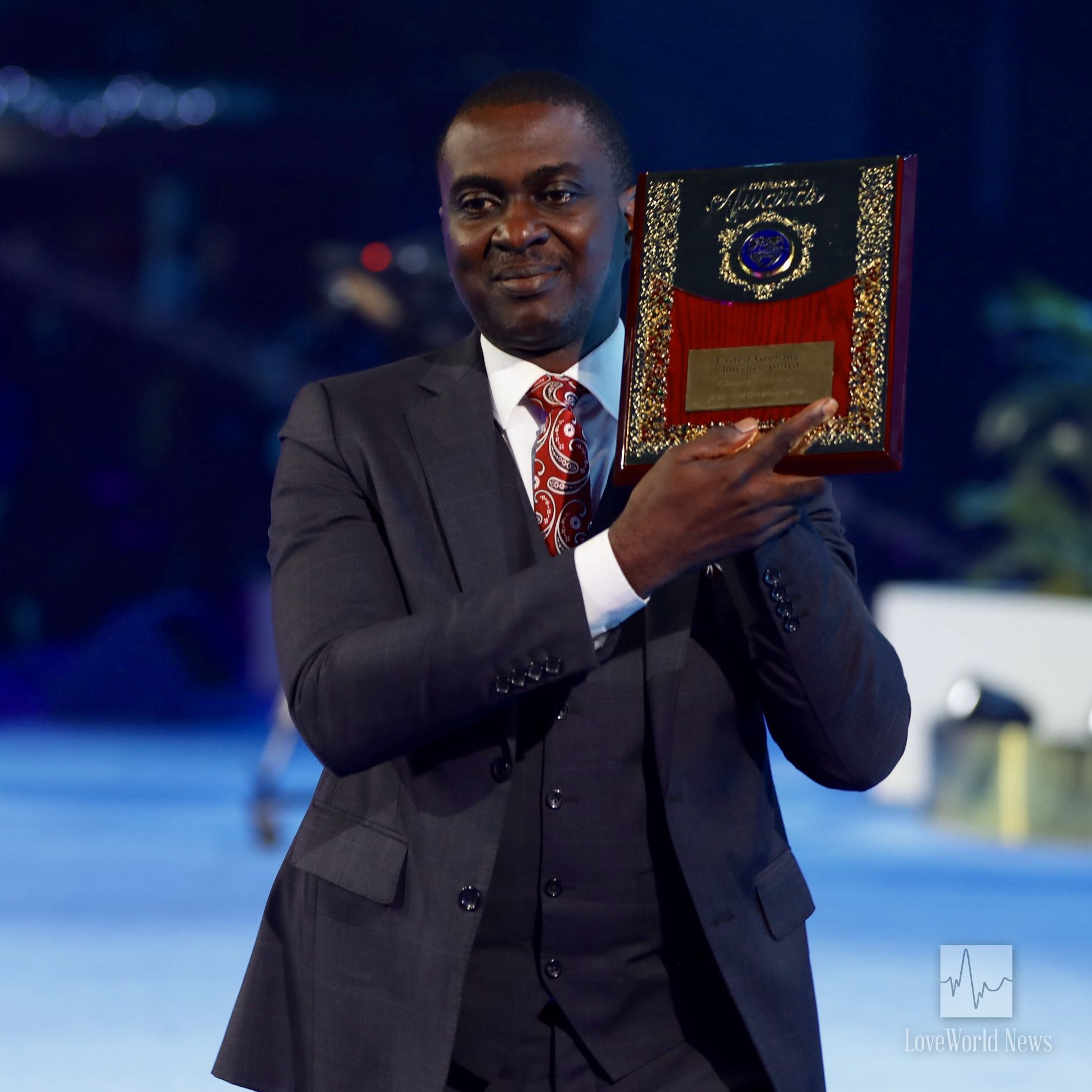 1st runner up, Christ Embassy Isolo (Pastor Emeka Eze).