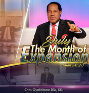 July 2017 the month of expansion