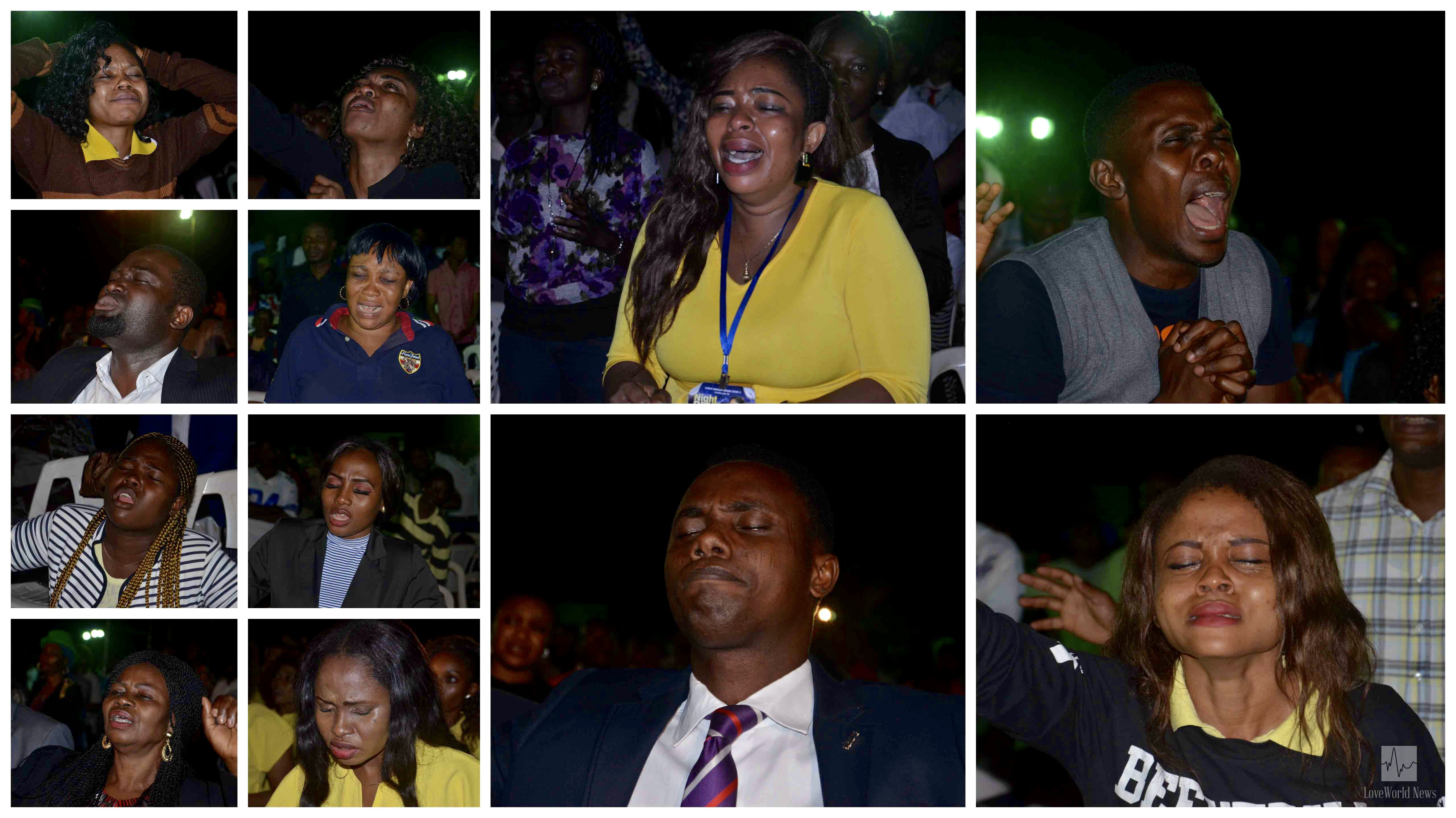 750 Souls Receive Salvation at Benin Zone 3's 'Night of