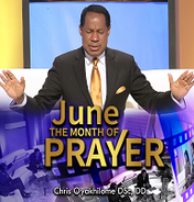 June 2017 the month of prayer
