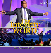The integrity of the word vol 2 part 2