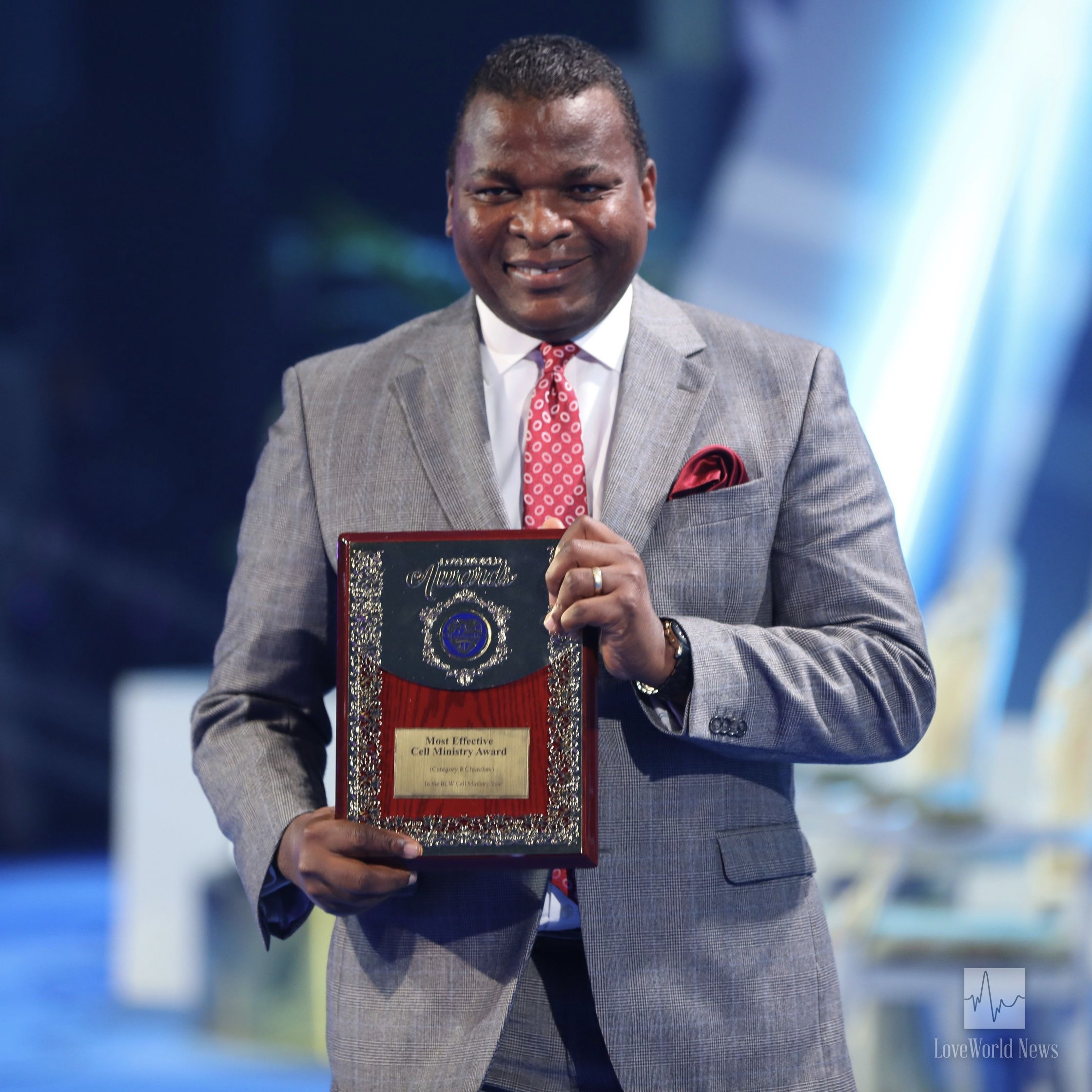 2nd runner-up, Christ Embassy Accra (Pastor Biodun Lawal).