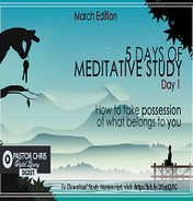 5 days of meditation day 1