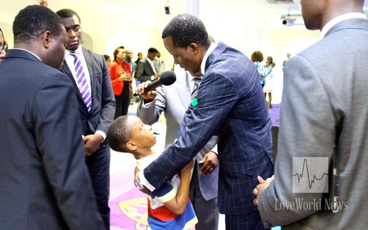 Indeed, more grace has been released for the benefit of the leaders of Christ  Embassy UK Zone 1.