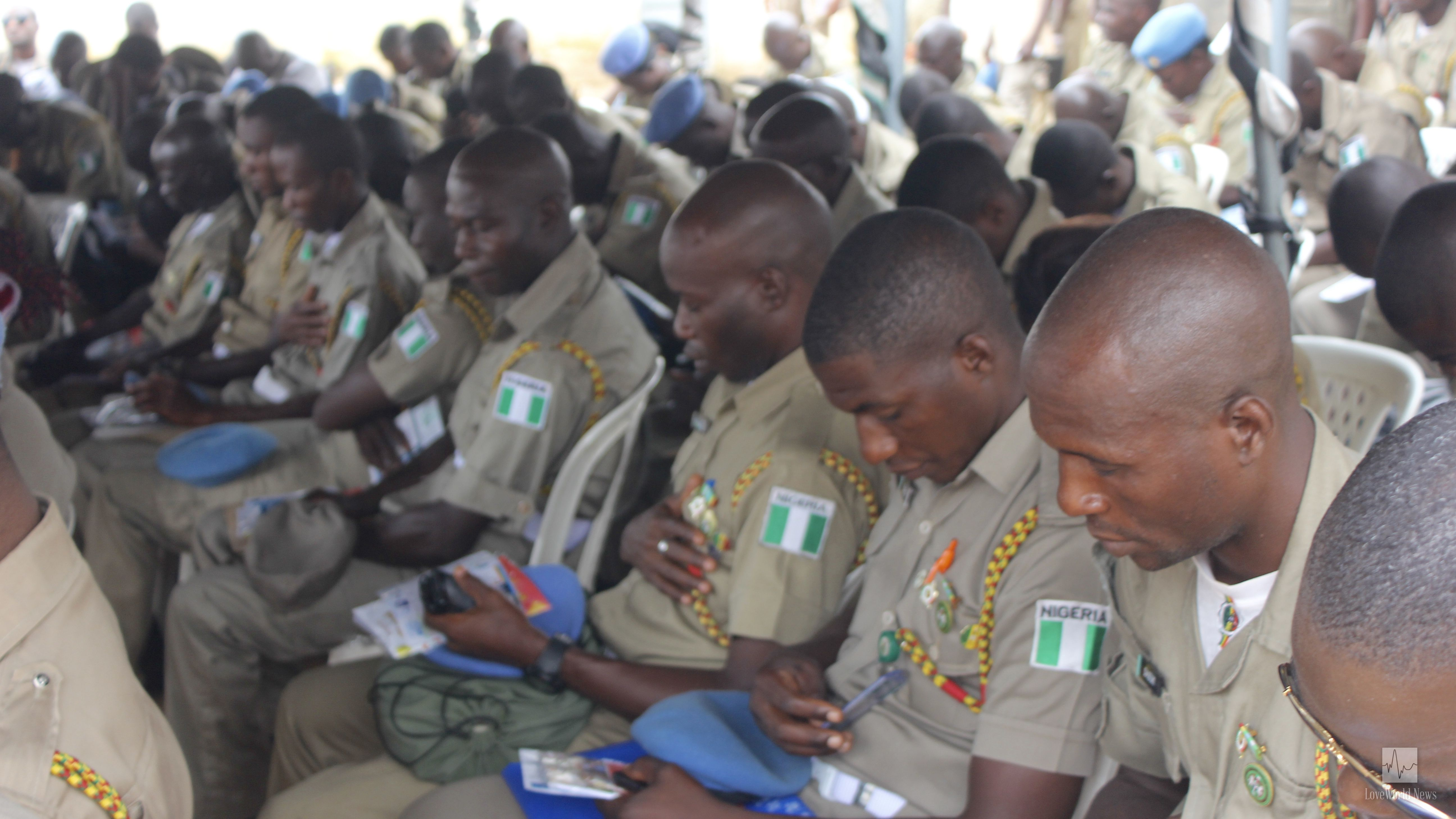 85 Officers of the Nigerian Peace Corps Saved During Outreach with