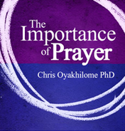 The importance of prayer 240